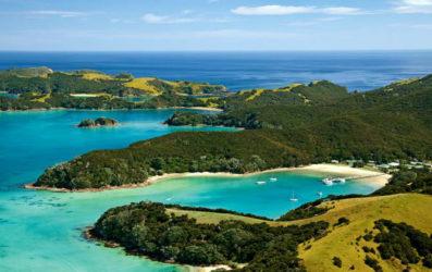 La Bahía de Islas, una joya de Nueva Zelanda