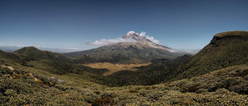 Taranaki y su volcán