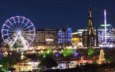 Navidad en Escocia