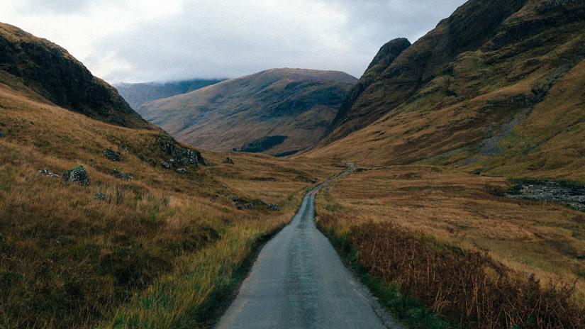 Otoño en Escocia