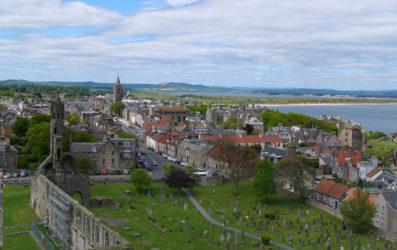 Saint Andrews, la ciudad de la Escocia menos conocida
