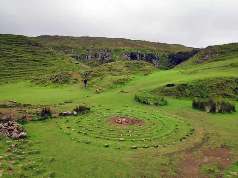 Círculo de piedras de Fairy Glen