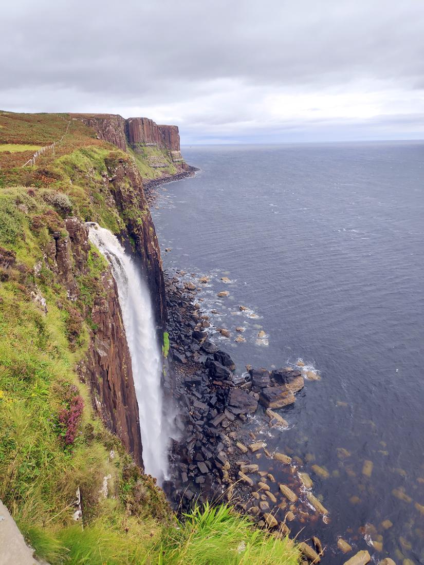 Kilt Rock y Mealt Waterfall