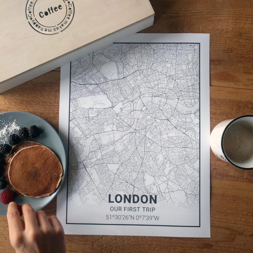 Láminas de Londres de Mapness.io