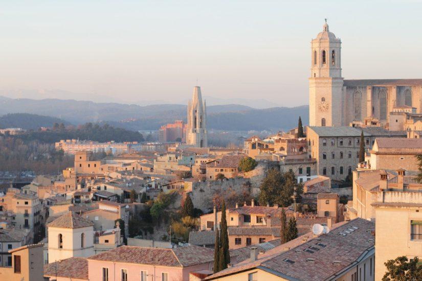 Girona - Vistas de la ciudad