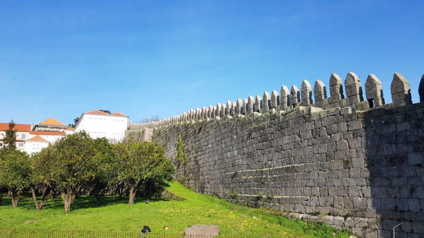 Muralla Primitiva do Porto