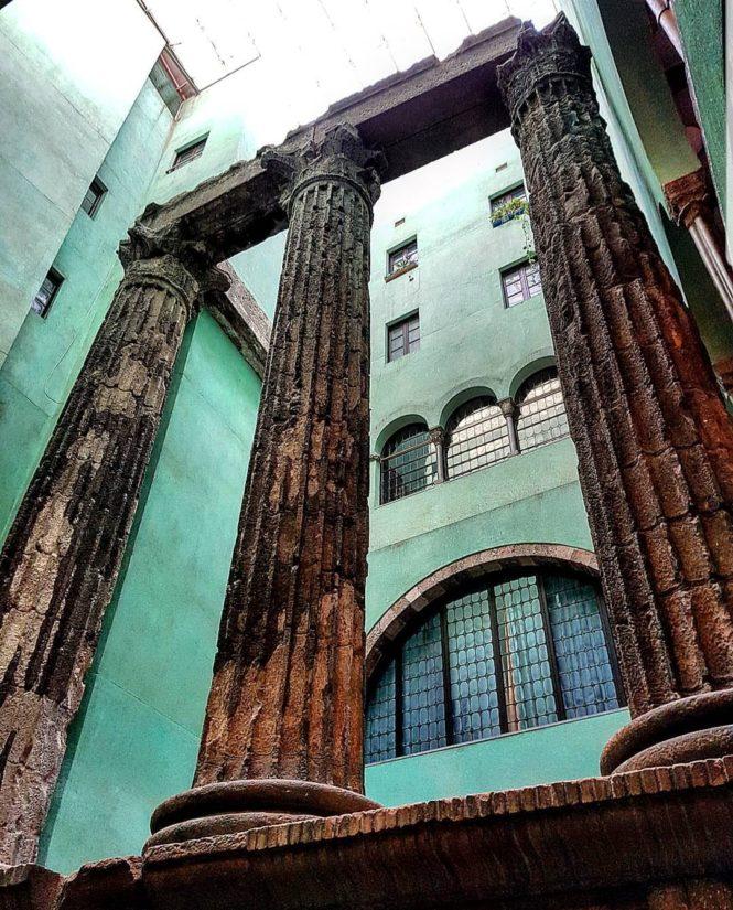 Templo Augusto, Barcelona