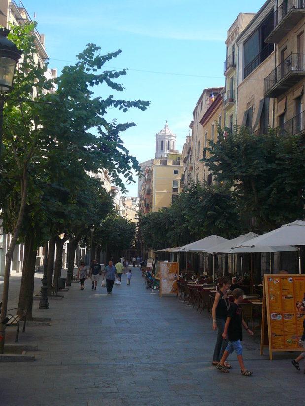 Rambla de la Llibertat, Girona