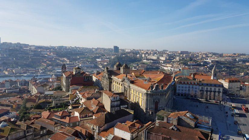 Vistas desde la Torre de los Clérigos