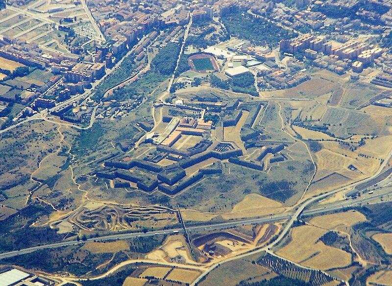 Vista aérea del Castell de San Ferran