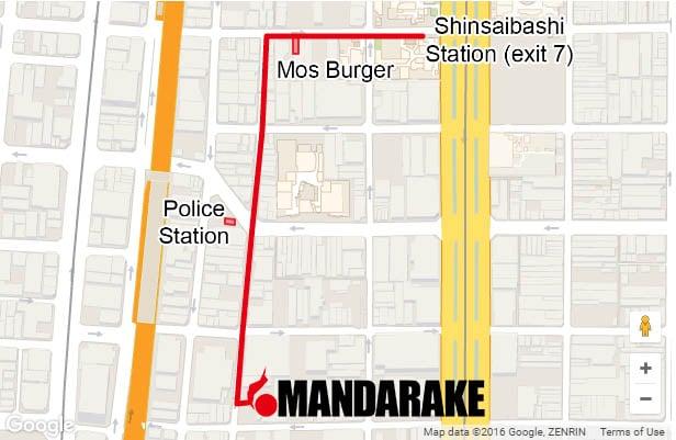 Cómo llegar a la Mandarake de Gran Chaos de Osaka