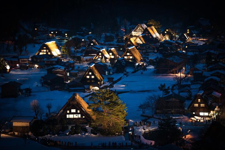 Shirawaka-go en invierno