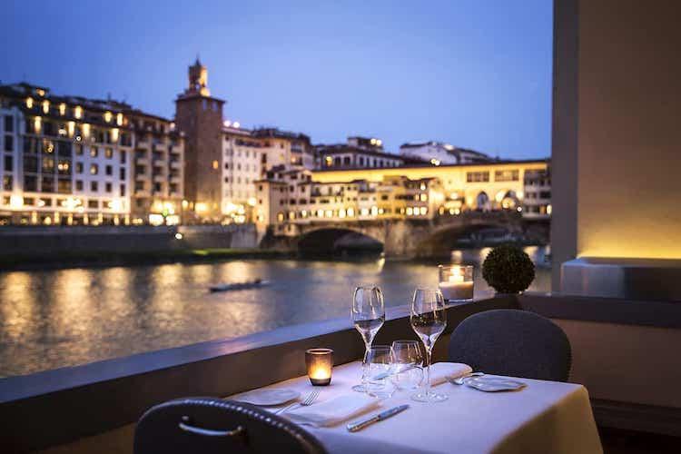 Restaurante Borgo San Jacopo, Florencia