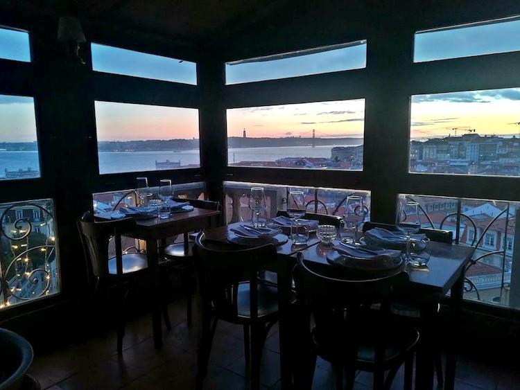 Restaurante Chapitô à Mesa, Lisboa
