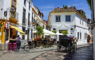 Restaurantes en la judería de Córdoba