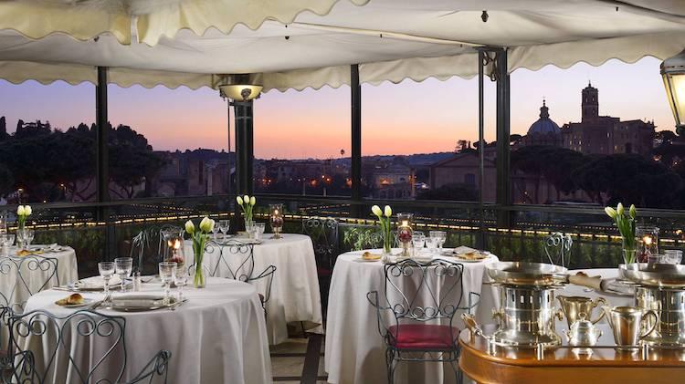 Restaurante Roof Garden del Hotel Forvm Roma, Roma