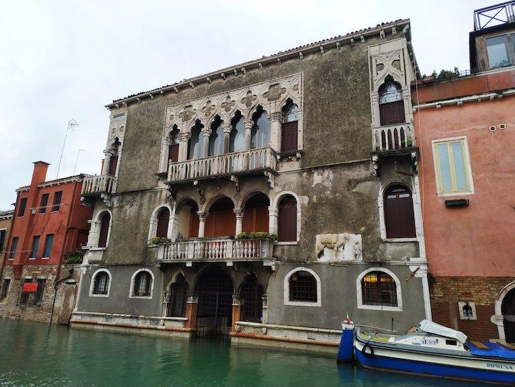 Palacio Mastelli, en Venecia