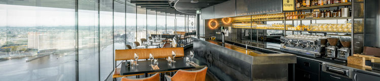 Restaurante MOON, Amsterdam