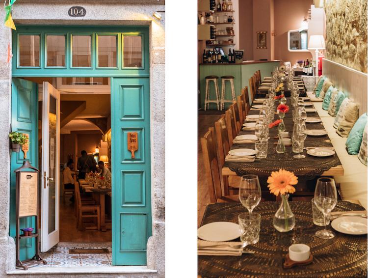 Restaurante Belos Aires, Oporto