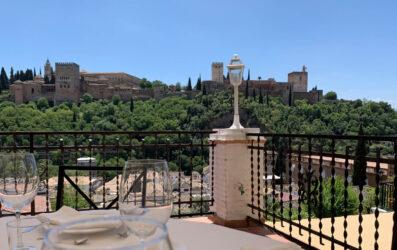 Restaurantes románticos en Granada