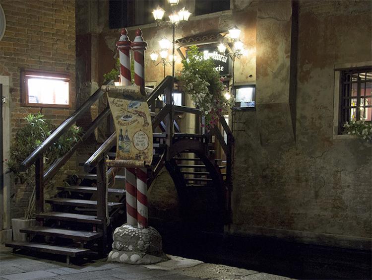 Poste Vecie, restaurante en Venecia