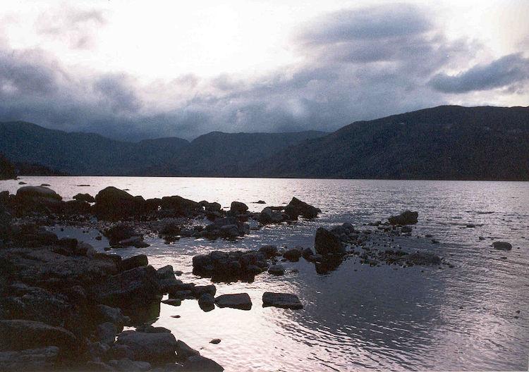 Vista del lago Sanabria