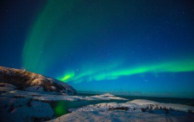 Los mejores hoteles para ver auroras boreales en Noruega