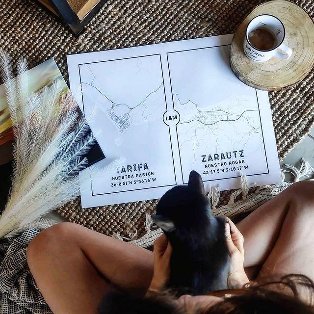 Nuestro mapa de Mapness: Tarifa y Zarautz